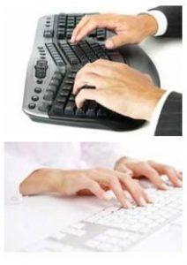 Posture au clavier