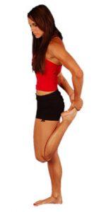 étirement quadriceps course à pied