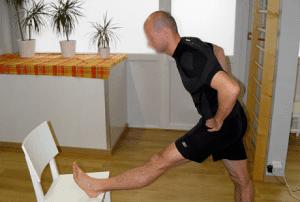 étirement ischio-jambiers course à pied