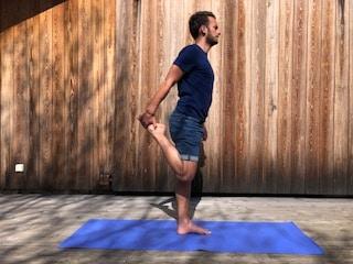 étirement quadriceps