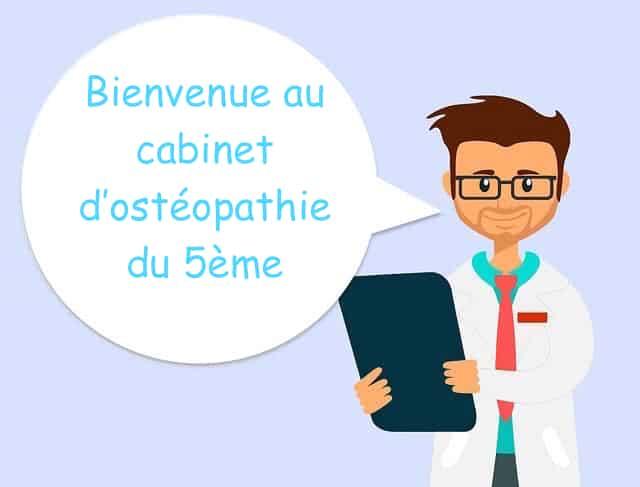 Ostéopathe Paris 5