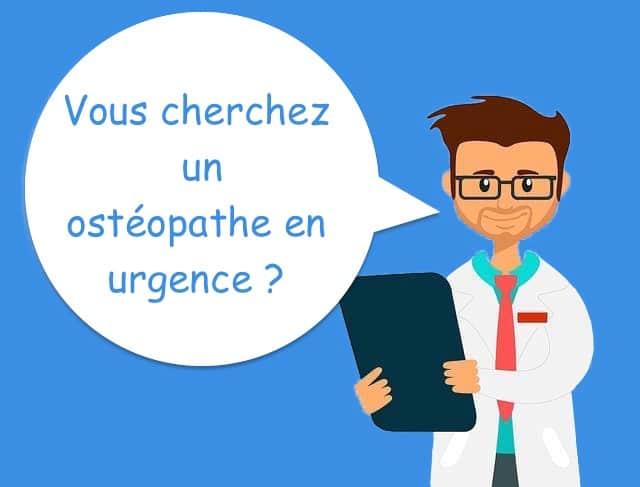 ostéopathe en urgence 7/7