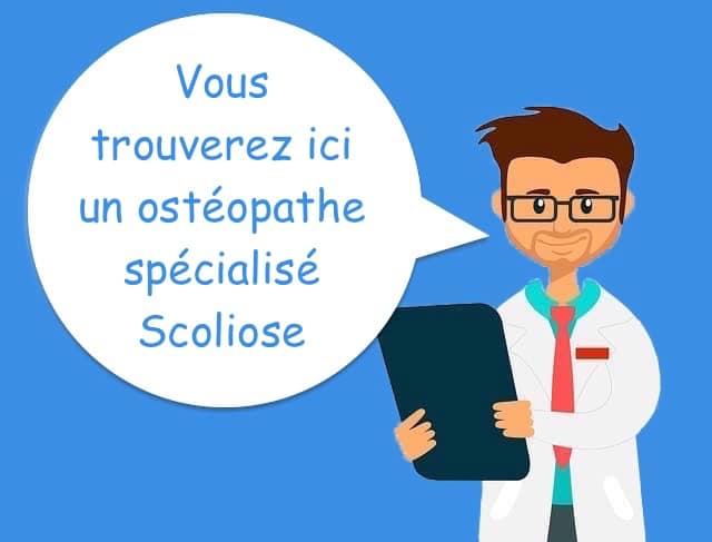 ostéopathe pour la scoliose