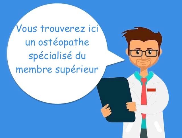 ostéopathe pour le membre supérieur