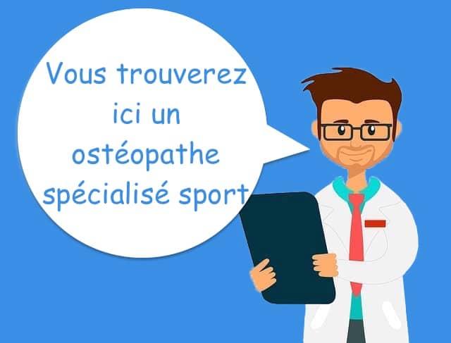 ostéopathe du sport Paris